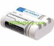 BAT828 Batería de Ion-Litio para CANON, PENTAX 2CR5